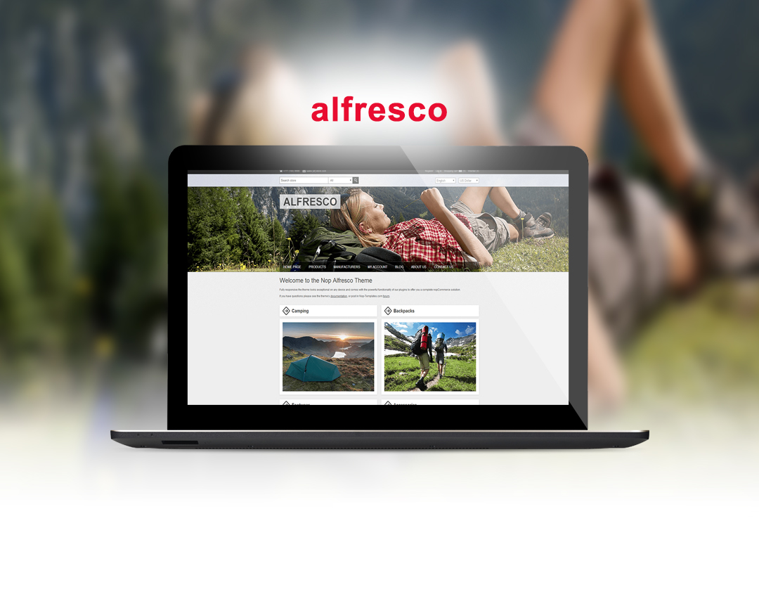 alfresco   nopCommerce